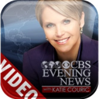 Logo of the podcast CBS Evening News with Katie Couric Video Podcast