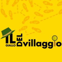 Logo of the podcast Il giallo di Giubiasco, con Ilaria