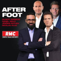 Logo du podcast RMC : 24/05 - Le Top de l'Afterfoot : Caen relégué en Ligue 2 !
