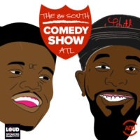 Logo of the podcast The 85 South Show with Karlous Miller, DC Young Fly and Clayton English