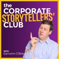 Logo of the podcast The Corporate Storytellers' Club Podcast