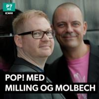 Logo du podcast Pop! Med Milling og Molbech