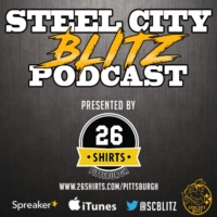Logo of the podcast Steel City Blitz Podcast