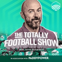Logo of the podcast The Totally Football Show with James Richardson