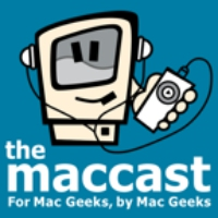 Logo of the podcast eMaccast 2017.08.02 - iPad Pro Podcasting with Tim Chaten