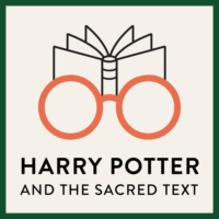 Logo of the podcast Blessing Professor Trelawney