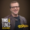 Logo of the podcast Tins and Tunes with Joe Donnelly