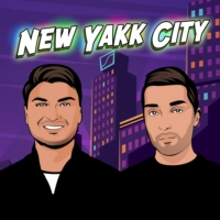 Logo of the podcast New Yakk City | The Comedic Pop-Philosophy Podcast