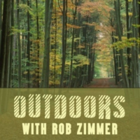 "Logo of the podcast ""Outdoors"" on WHBY"