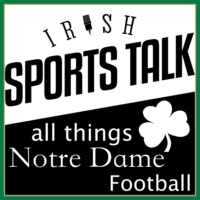 Logo of the podcast Irish Sports Talk: A Notre Dame Football