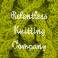 Logo of the podcast Relentless Knitting Podcast