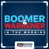 Logo of the podcast Boomer & Warrener in the Morning