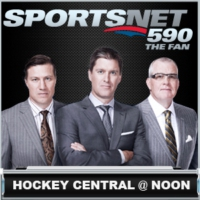 Logo of the podcast Hockey Central @ Noon - October 10 - Monday