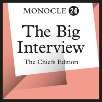 Logo of the podcast Monocle 24: The Big Interview