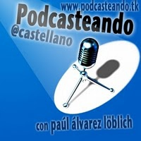 Logo of the podcast *Nuestro primer Vidcast: PodcasteandoTV!
