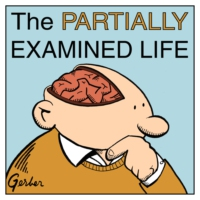 Logo of the podcast The Partially Examined Life Philosophy Podcast