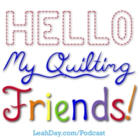Logo du podcast Hello My Quilting Friends