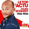 Logo of the podcast Julien Schmidt - Le top de l'actu sur Rire & Chansons
