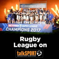 Logo of the podcast Rugby League on talkSPORT 2