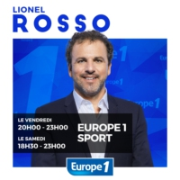 Logo of the podcast Europe 1 Sport le Club Lionel Rosso - 03/09/2016
