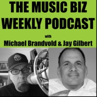 Logo of the podcast The Music Biz Weekly