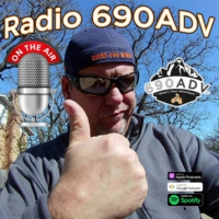 Logo of the podcast Radio 690ADV Motorcycle Podcast