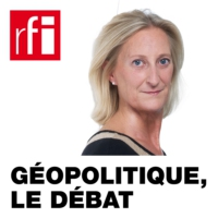 Logo of the podcast RFI - Géopolitique, le débat