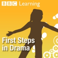 Logo of the podcast First Steps in Drama