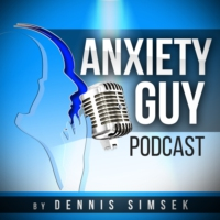 Logo of the podcast The Anxiety Guy Podcast