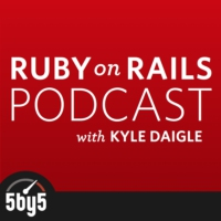 Logo du podcast Ruby on Rails Podcast
