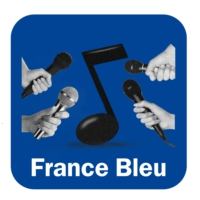 "Logo of the podcast Alain Ortega "" Bleu """