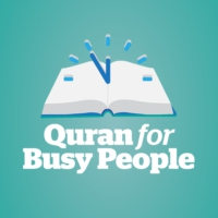 Logo of the podcast Quran For Busy People