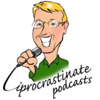 "Logo du podcast ""End Procrastination Now"" - a new book by Dr. Bill Knaus"