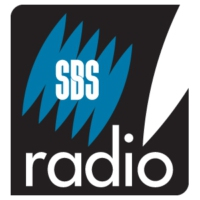 Logo of the podcast SBS French program