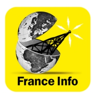 Logo of the podcast France info reportage 11h45 25.10.2015