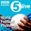 Logo of the podcast 5 live's World Football Phone-in