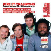 Logo of the podcast Rire & Crampons - Rire & Chansons - On est Champions du Monde - Avec Krystoff Fluder et Thierry Sam…