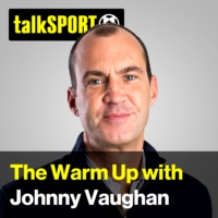 Logo of the podcast The Warm Up with Johnny Vaughan - Saturday, September 12