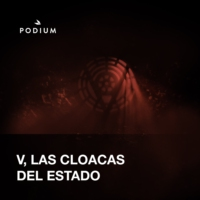Logo of the podcast V., las cloacas del estado