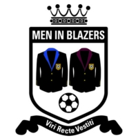 Logo of the podcast Men in Blazers 05/10/16: With Billy Beane