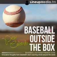 Logo of the podcast Kenny McCudden Interviews Pete Caliendo on Baseball Outside the Box!