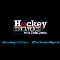 Logo of the podcast Hockey Unfiltered with Todd Lewis
