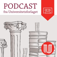 Logo of the podcast Universitetsforlagets podcast