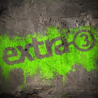 Logo of the podcast extra 3