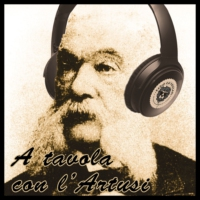 Logo of the podcast A tavola con l'Artusi