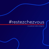Logo of the podcast #RestezChezVous