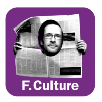 Logo of the podcast La revue de presse culturelle d'Antoine Guillot 24.02.2016
