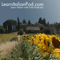 Logo of the podcast Learn Italian with Podcasts at LearnItalianPod.com