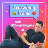 Logo of the podcast Everything Iconic with Danny Pellegrino