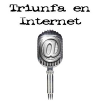 Logo of the podcast triunfa en internet - programa 19.- blue